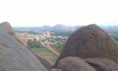 Zdjecie INDIE / Karnataka / Hampi / Panorama Hampi