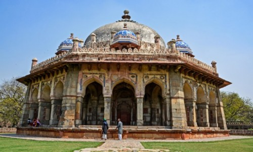 Zdjecie INDIE / - / Delhi / Grobowiec  Mohammeda Shaha XV w