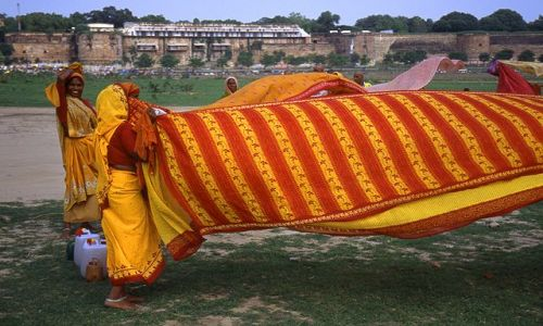 INDIE / brak / Allahabad / kobiety w Allahabadzie
