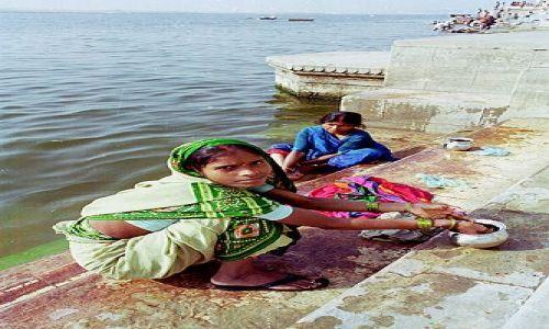 Zdjecie INDIE / brak / Varanasi / Nad Gangą