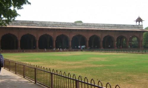Zdjecie INDIE / New Delhi / New Delhi / Diwan-i-Am (Czerwony Fort)