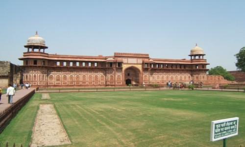 Zdjecie INDIE / Uttar Pradeś / Agra / Pałac Dżahangira w Czerwonym Forcie