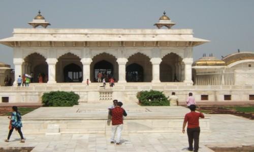 Zdjecie INDIE / Uttar Pradeś / Agra / Khas Mahal w Czerwonym Forcie