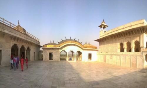 Zdjecie INDIE / Uttar Pradeś / Agra / Wewnątrz Khas Mahal
