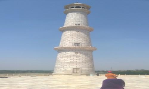 Zdjecie INDIE / Uttar Pradeś / Agra / Taj Mahal, jeden z minaretów
