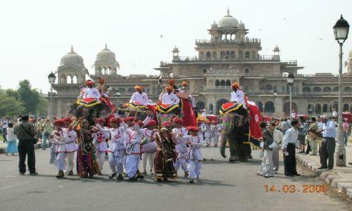 INDIE / Radżastan / Jaipur / Święto Holi