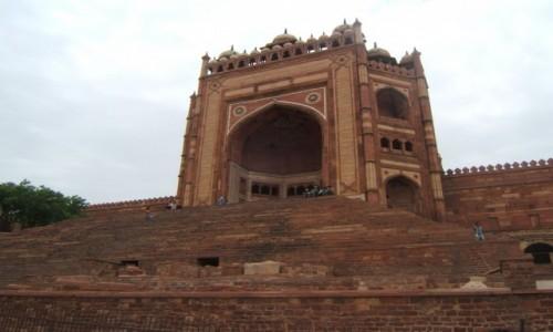 Zdjecie INDIE / Uttar Pradeś / Fatehpur Sikri / Buland Darwaza (Brama Zwycięstwa)