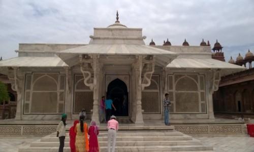 Zdjecie INDIE / Uttar Pradeś / Fatehpur Sikri / Grobowiec Selima Ćistiego