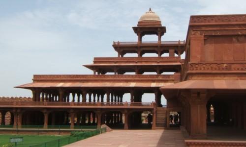 Zdjecie INDIE / Uttar Pradeś / Fatehpur Sikri / Panch Mahal