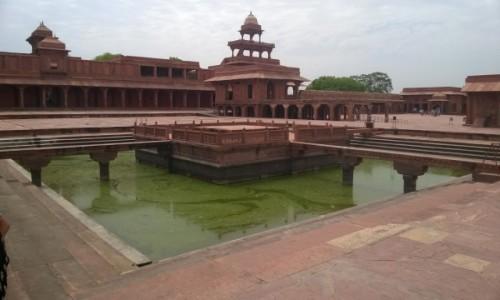 Zdjecie INDIE / Uttar Pradeś / Fatehpur Sikri / Fatehpur Sikri - wymarłe miasto