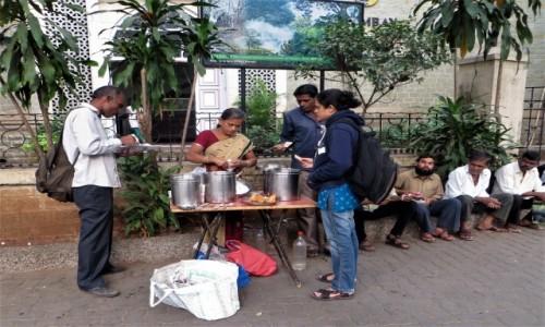 Zdjecie INDIE / Maharasztra / Mumbaj /  Po śniadanie (bardzo smaczne)