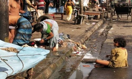 Zdjecie INDIE / Bengal Zachodni / Kalkuta / ulice Kalkuty