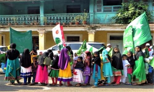 Zdjęcie INDIE / Goa / Panji / Kolorowo przed Islam High School