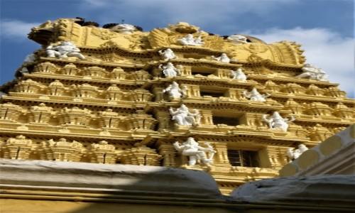 Zdjecie INDIE / Karnataka / Mysore / Śiątynia na wzgórzu Chamundi