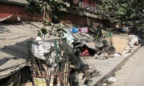 Zdjecie INDIE / Bengal Zachodni / Kalkuta / ulice Kalkuty - apartament w centrum miasta