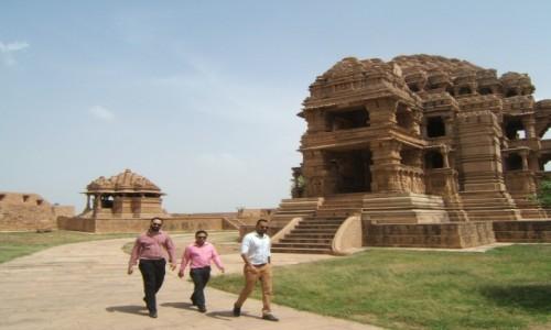 Zdjecie INDIE / Madhya Pradeś / Gwalijar / Świątynie Saasbahu