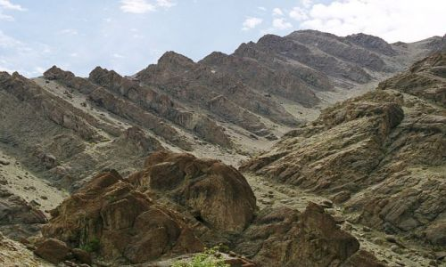 Zdjecie INDIE / Ladakh- J&K-Indie Północne / Hemis- Ladakh / formy Hemis