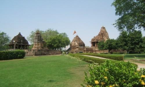 Zdjecie INDIE / Madhya Pradeś / Khajuraho / Świątynie w Khajuraho