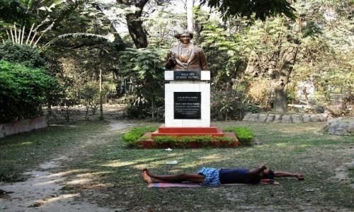 Zdjecie INDIE / Bengal Zachodni / Kalkuta / sjesta