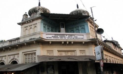 Zdjecie INDIE / Bengal Zachodni / Kalkuta / budynek hospicjum Matki Teresy z Kalkuty