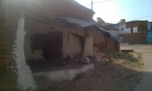 Zdjecie INDIE / Madhya Pradeś / Khajuraho / Stara waga w starej wiosce
