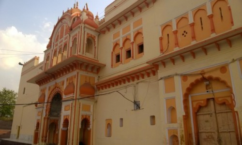 Zdjecie INDIE / Madhya Pradeś / Orcha / Świątynia Ram Raja w Orchy