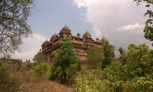 Zdjecie INDIE / Madhya Pradeś / Orcha / Jahangir Mahal w Orchy