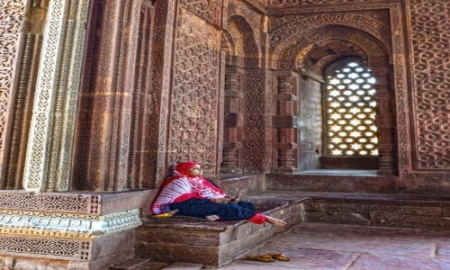 Zdjecie INDIE / - / Delhi / Ghiyas al-Din Mausoleum