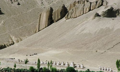 Zdjecie INDIE / Ladakh- J&K- Indie P�nocne / Lamayuru / Lamayuru- Wanla