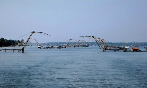 Zdjecie INDIE / Kerala / Keralskie rozlewiska / Chińskie sieci