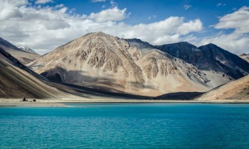 Zdjęcie INDIE / Ladakh / Pangong Lake / lazur...