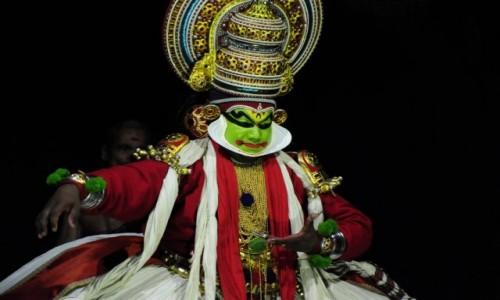 Zdjecie INDIE / Kerala / Kochi / Kathakali