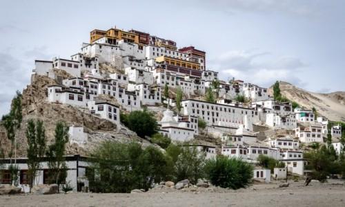INDIE / Ladakh / Thiksey Monastery / klasztor...