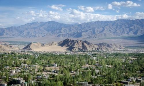 Zdjęcie INDIE / Ladakh / Leh / stolica...