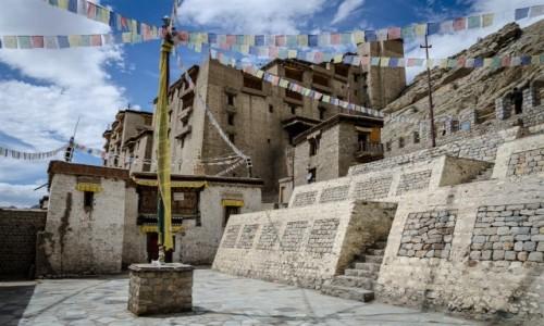 Zdjecie INDIE / Ladakh / Leh / siedziba królów...
