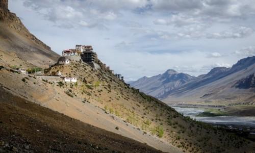 Zdjecie INDIE / Himachal Pradesh / Key Monastery / trochę swiatła...
