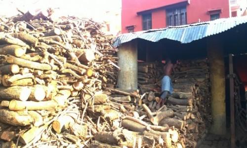 Zdjecie INDIE / Uttar Pradeś / Varanasi / Jeden z donów przy pracy