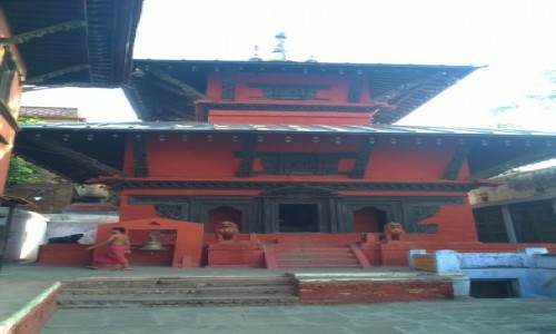 Zdjecie INDIE / Uttar Pradeś / Varanasi / Świątynia nepalska w Varanasi
