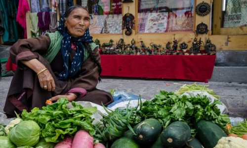 Zdjecie INDIE / Ladakh / Leh / ...będzie utarg?