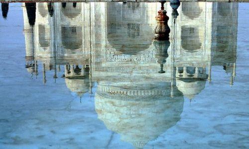 Zdjęcie INDIE / Agra / Taj Mahal / Taj Mahal inaczej ...