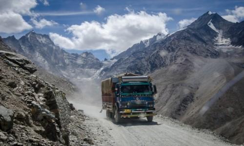 Zdjecie INDIE / Himachal Pradesh / Kunzum La / mijanka...