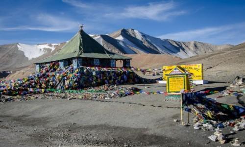INDIE / Ladakh / Taglang La / przełęcz...