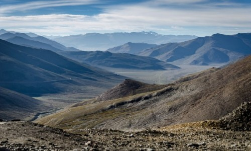 Zdjecie INDIE / Ladakh / Taglang La / sina dal...