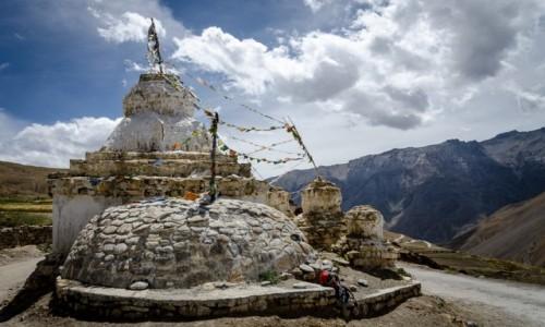 Zdjecie INDIE / Himachal Pradesh / Kibber / pod niebem....