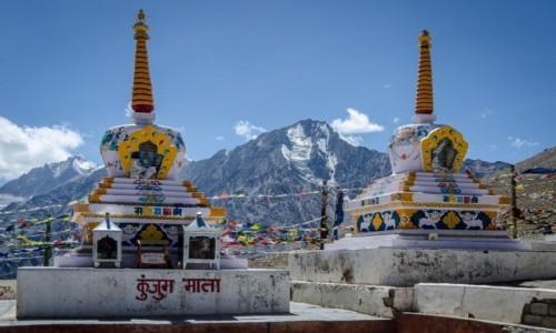 Zdjecie INDIE / Himachal Pradesh / Kunzum La / sacrum...