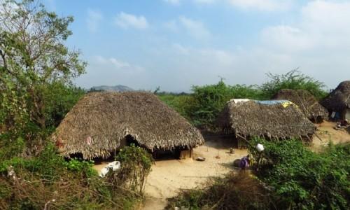 Zdjęcie INDIE / Tamilnadu / trasa Mahabalipuram - Tiruvannamalaj / wioska