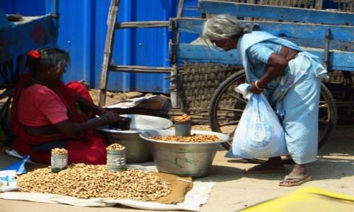 Zdjęcie INDIE / Tamilnadu / Tiruvannamalaj / na targu