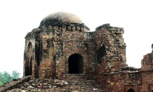 Zdjęcie INDIE / Delhi / Delhi, Firuz-Szah Kotla / grobowiec afgański