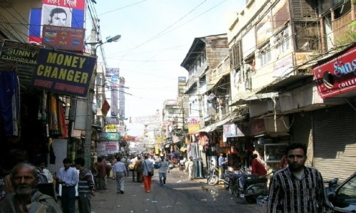 Zdjęcie INDIE / Delhi / Old Delhi / Paharganj