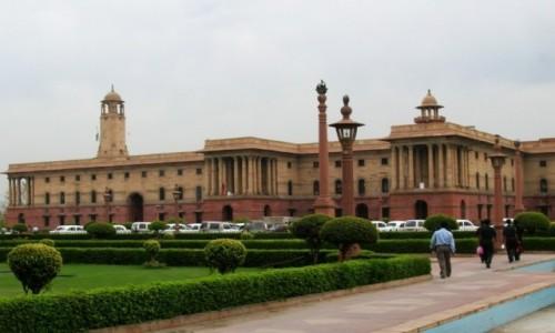 Zdjęcie INDIE / Delhi / New Delhi / budynek Dyrektoriatu